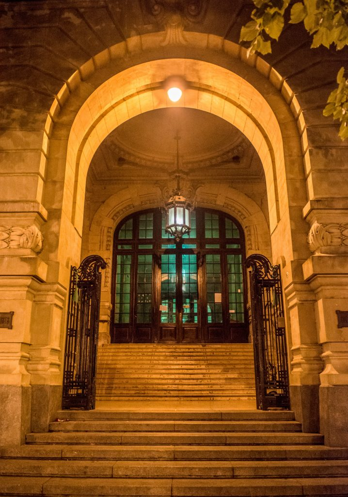 Puerta de entrada CNBA
