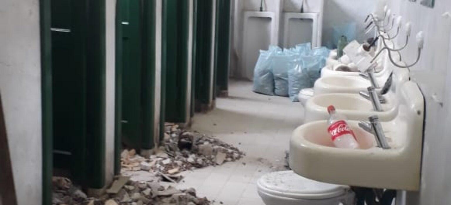 Restauramos los baños