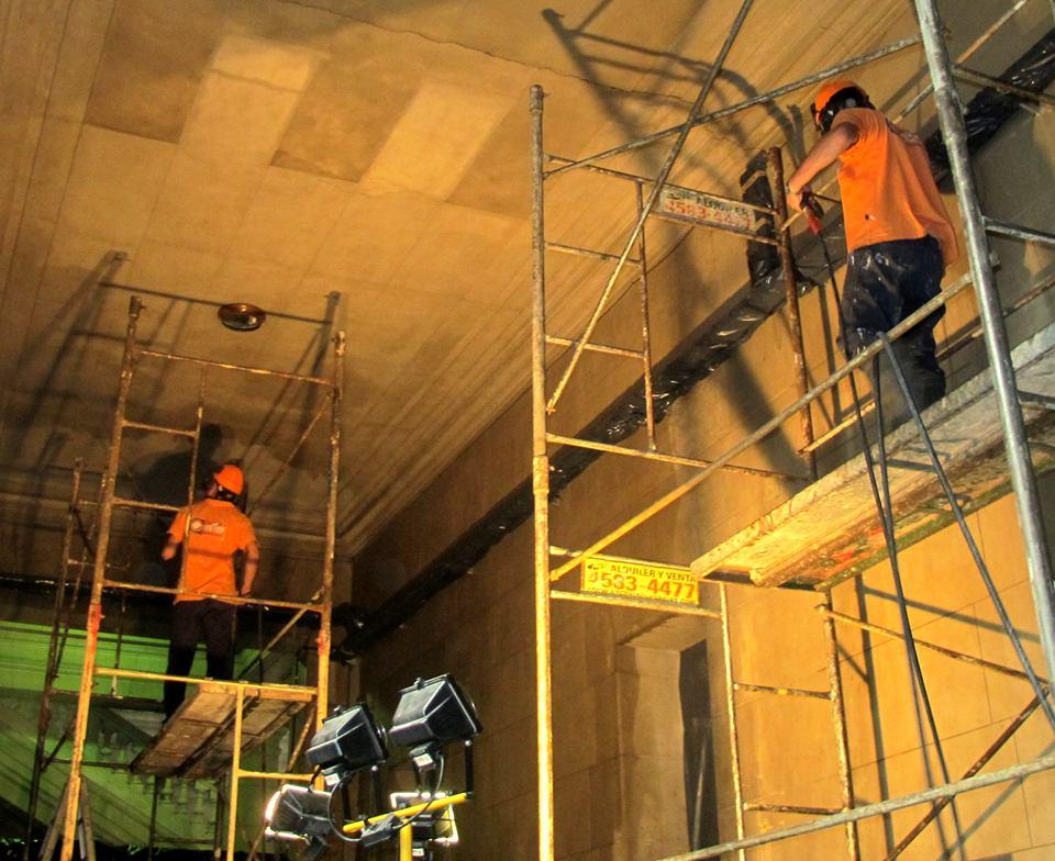 Restauración Claustro Alsina