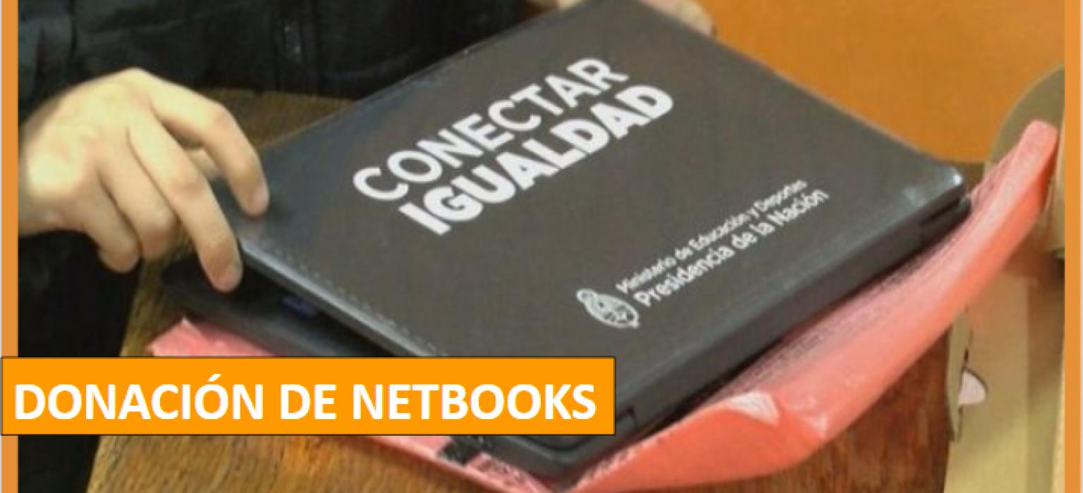 Donación de Netbooks