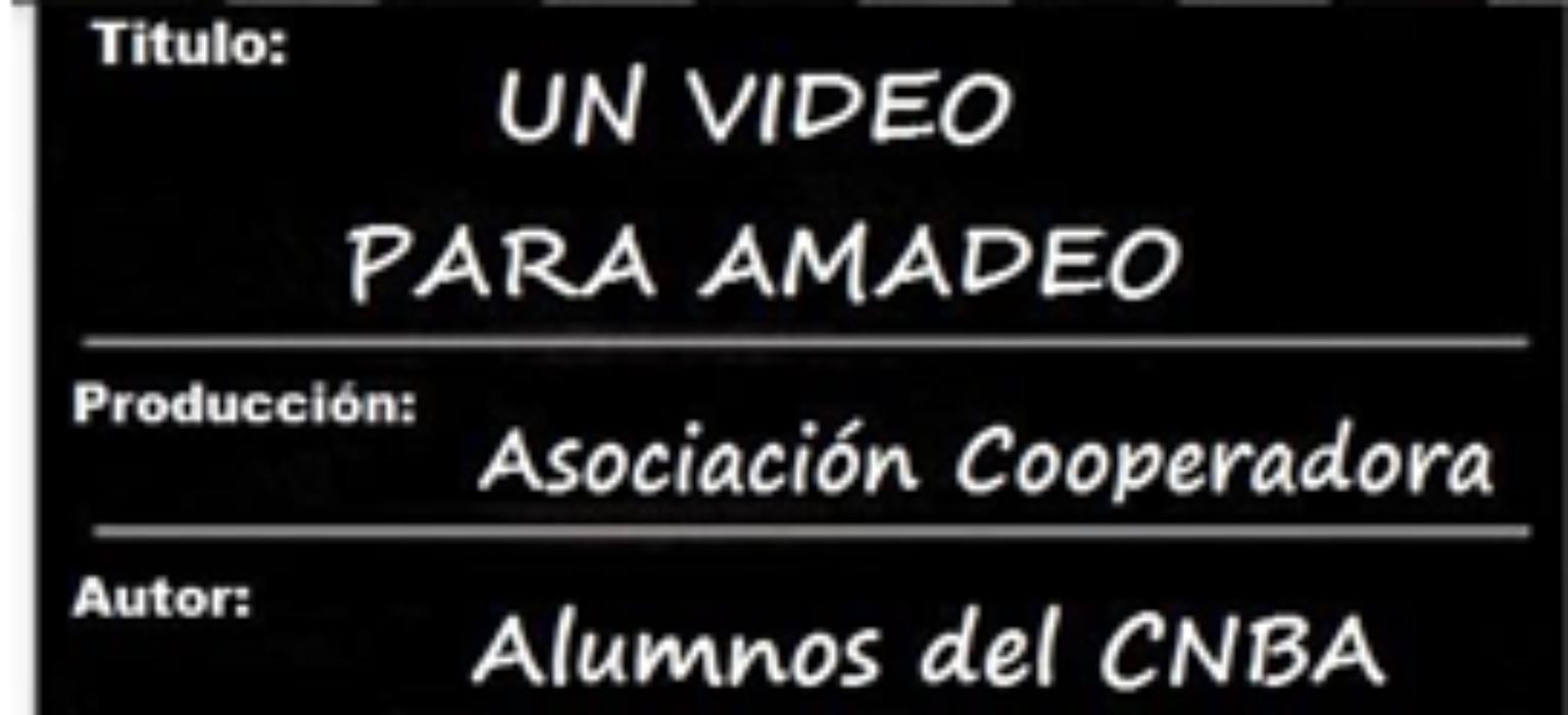 """CONCURSO UN VIDEO PARA AMADEO: """"El mundo en casa"""""""