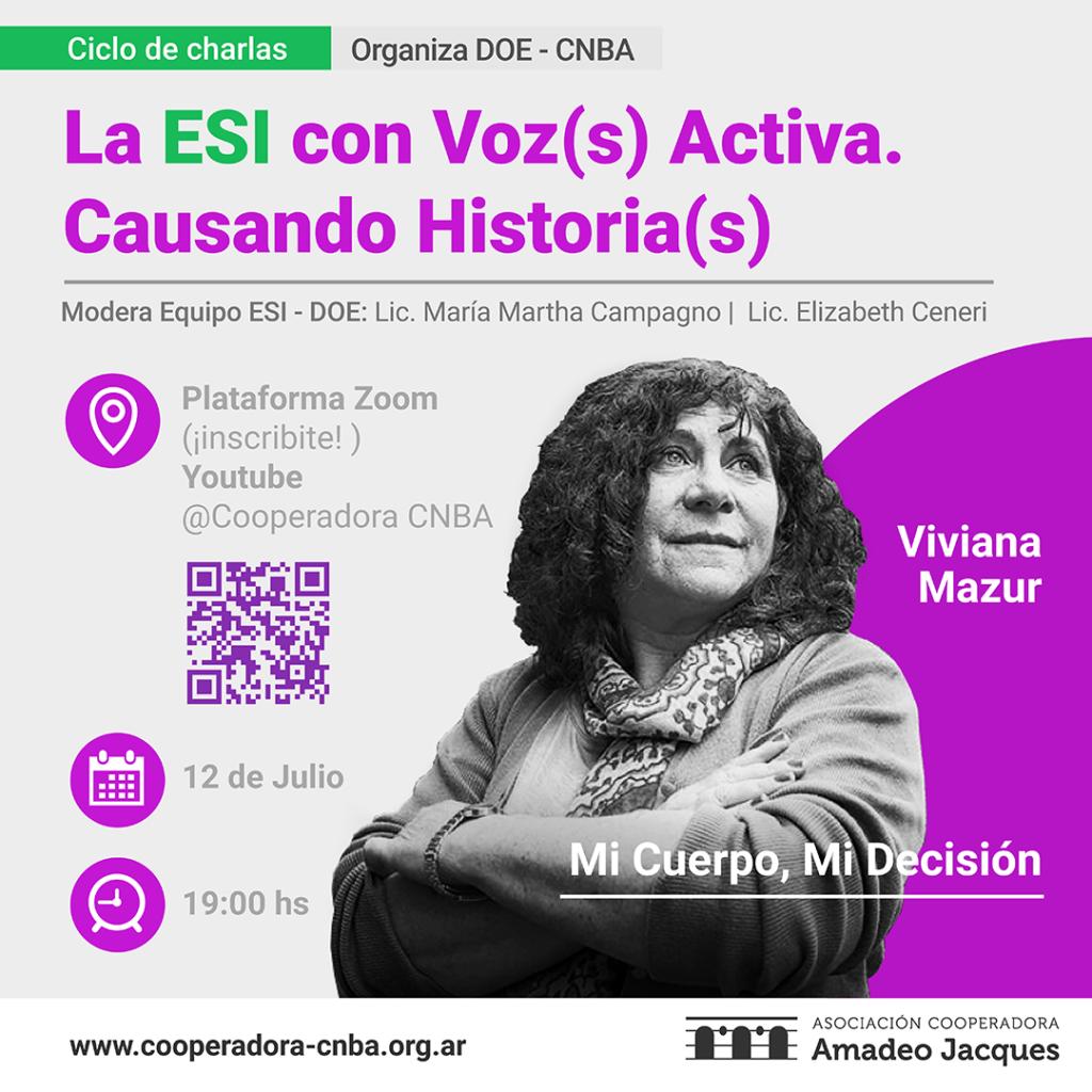 La ESI con voz activa - Viviana Mazur