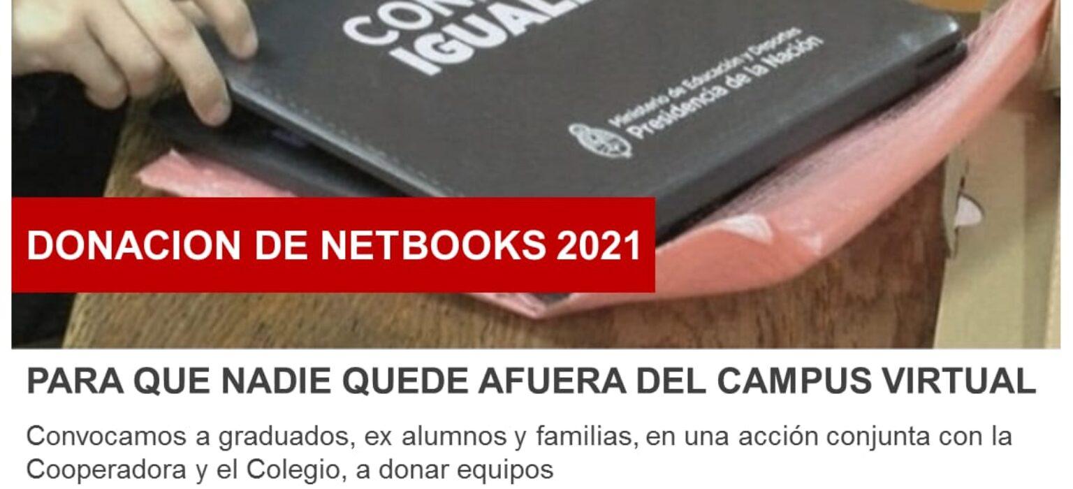 Donación de Netbooks - Reabrimos la campaña