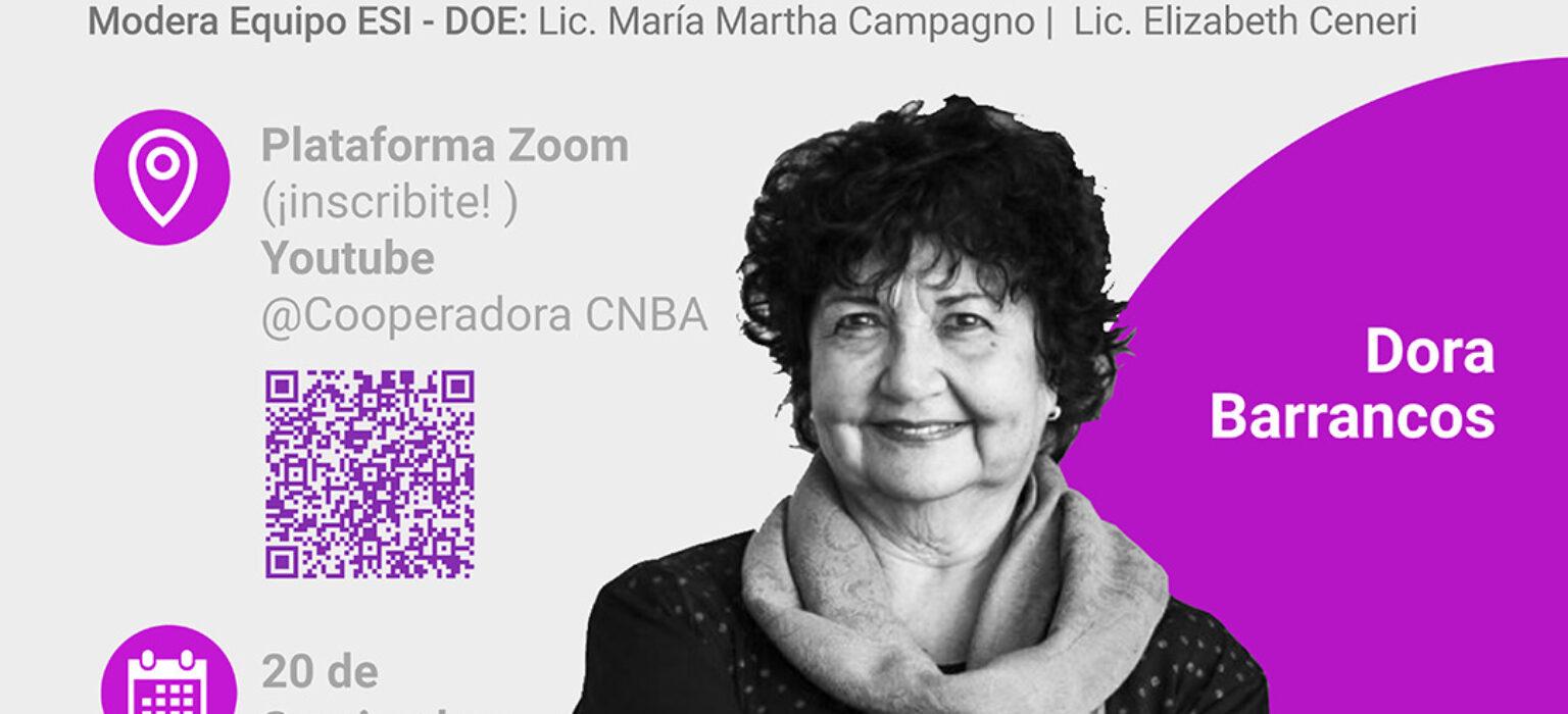 La ESI con voz(s) activa: Dora Barrancos