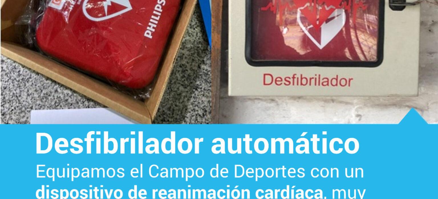 Desfibrilador automático